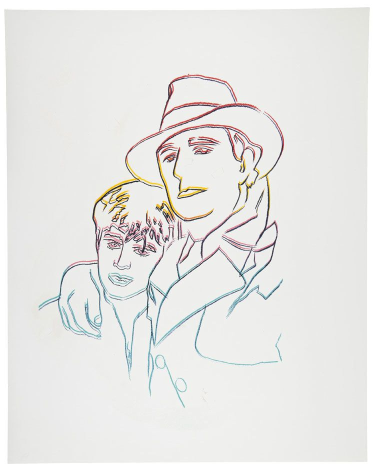 LOT 115, ANDY WARHOL (1928-1987), Some Men Need Help (See F. & S. IIIB.8), screenprint in colors on museum board, 40 1/8 x 32