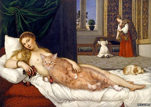 "Based on Titian's ""<a href=""http://www.uffizi.org/artworks/venus-of-urbino-by-titian/"" target=""_blank"">Venus of Urbino</a>"""