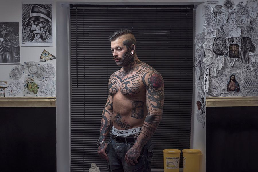 Keif price- 23 years old - 'Being tattooed has made me realize how close minded society is'