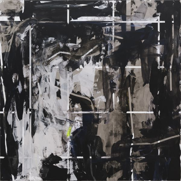 Heimo Zobernig, Untitled, Acrylic on canvas, 2013, courtesy of the artist and Petzel, New York.