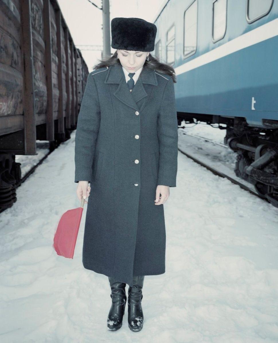Marina, Miss Belarusian Railway in Brest region.