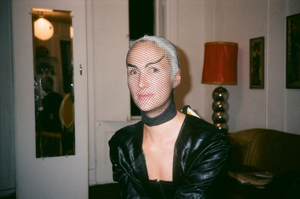 In the Pyramid Club dressing room. (November, 1991)