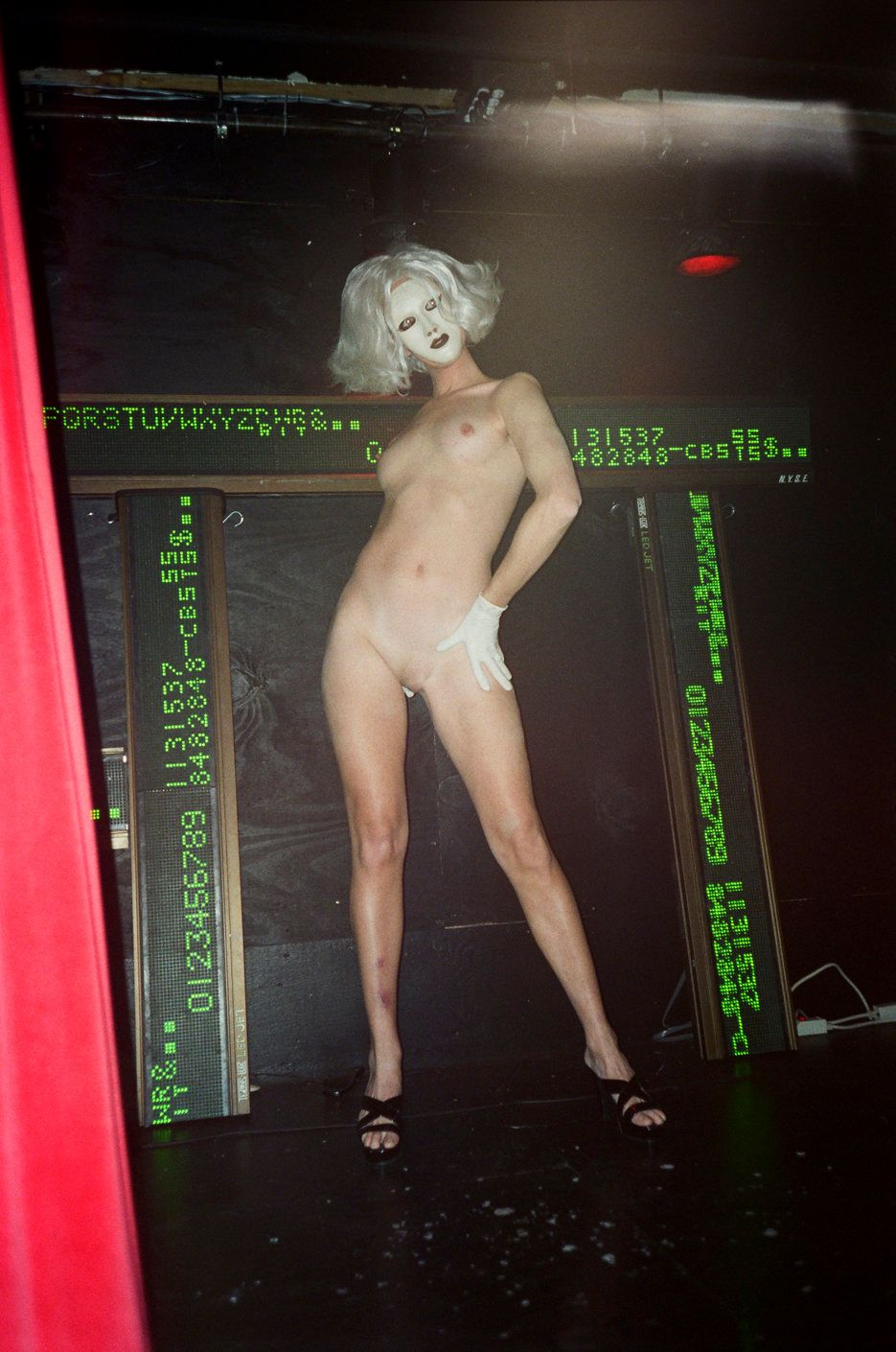 Performing at Mother nightclub. (November, 1996)