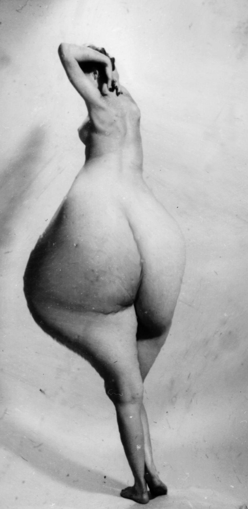 Hippy Nude, 1955
