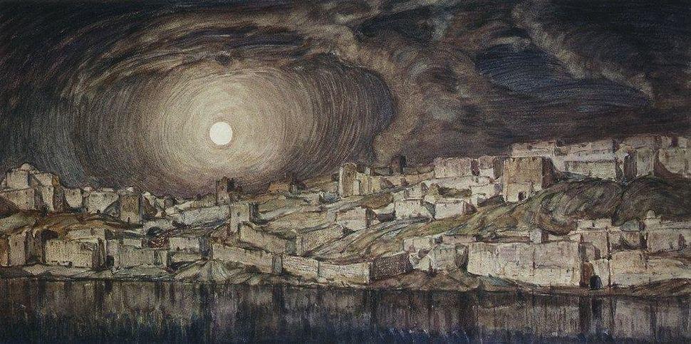 "Konstantin Bogaevsky, ""Memories of Mantegna,"" 1910"