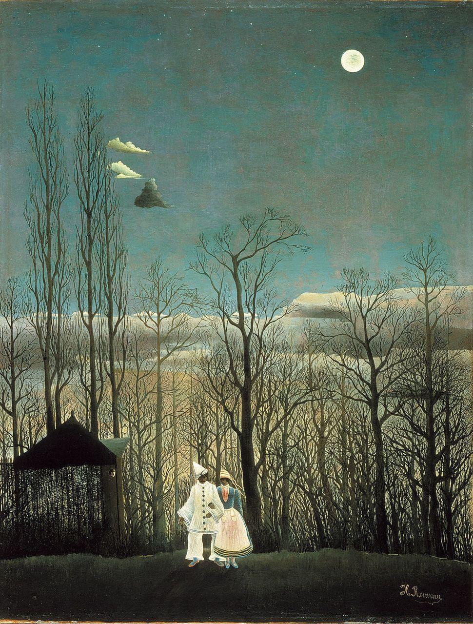 "Henri Rousseau, ""A Carnival Evening,"" 1886, Philadelphia Museum of Art, Philadelphia, PA"