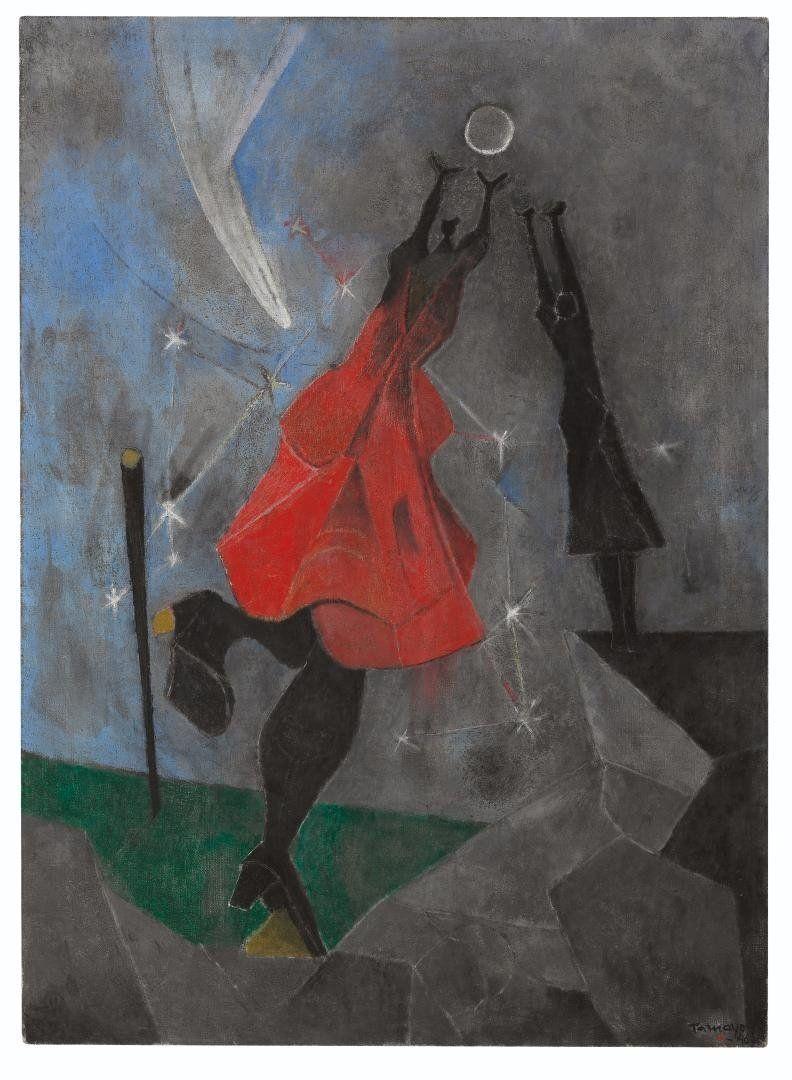 """Rufino Tamayo, """"Women Reaching for the Moon,"""" 1946"""