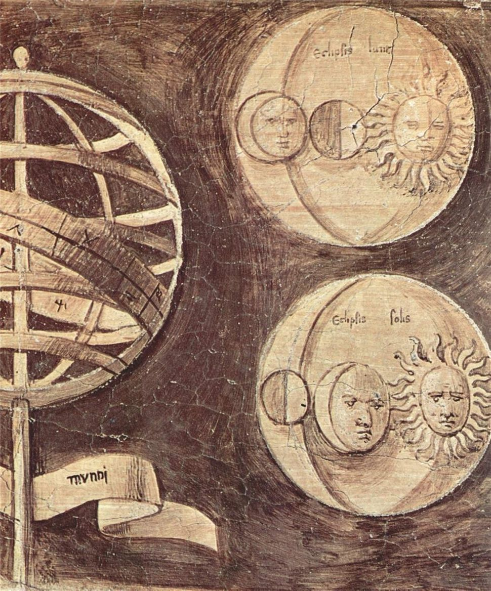 """Giorgione, """"Globe, moon, sun (astronomy),"""" 1510"""