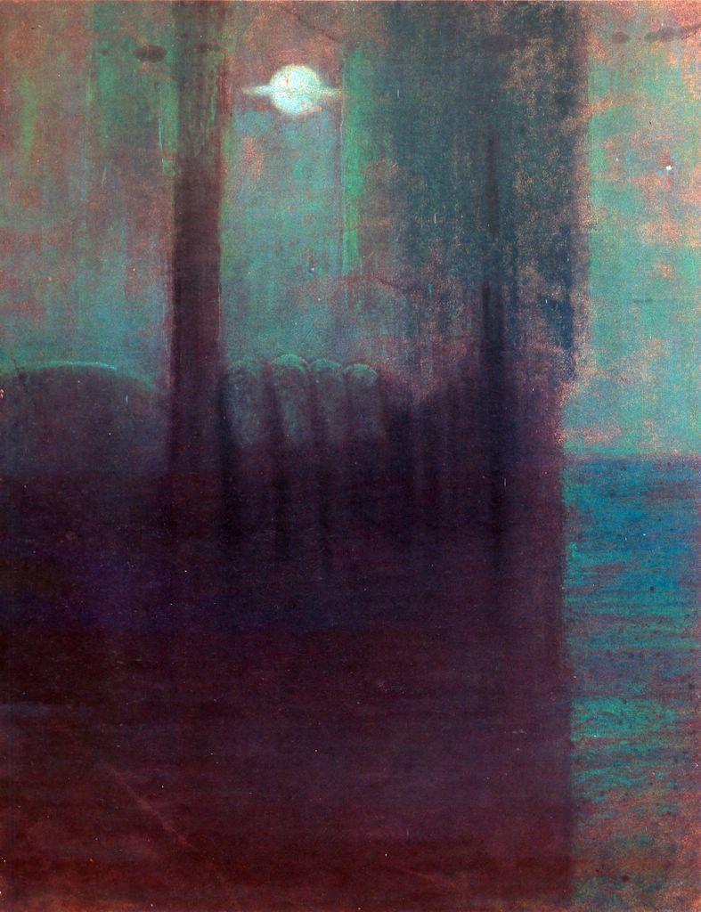 """Mikalojus Ciurlionis, """"Night,"""" 1904"""