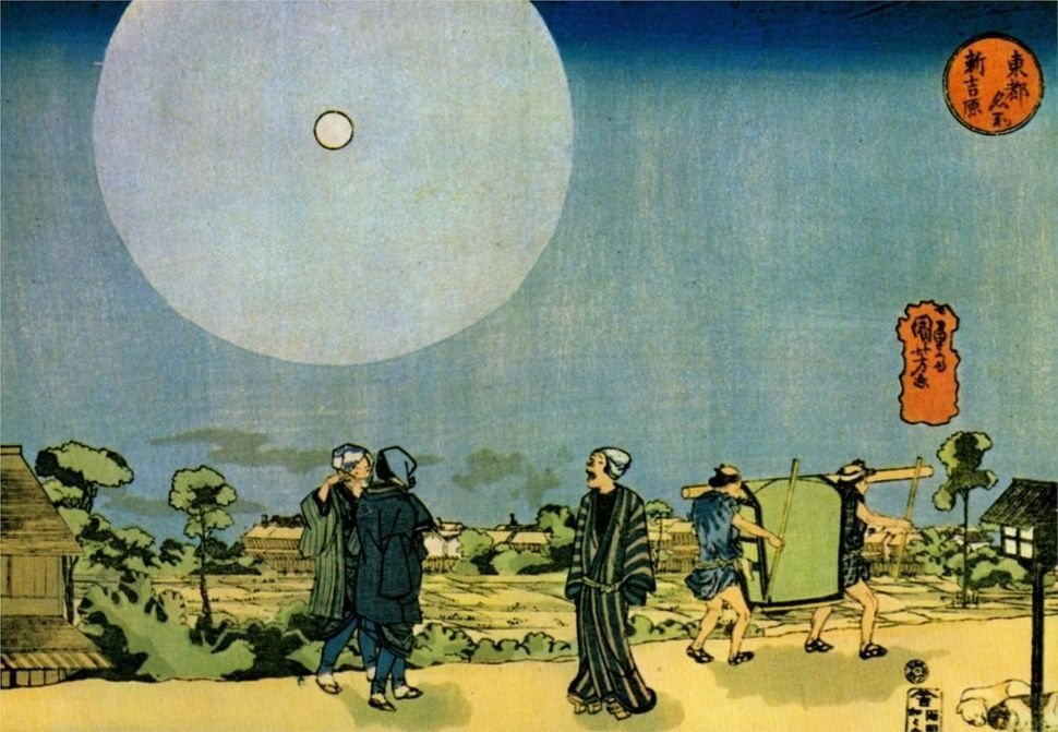 "Utagawa Kuniyoshi (1797-1861), ""Moon"""