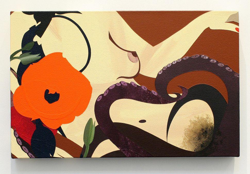 Marina Kappos, 144 Peep Show, 2011, acrylic on canvas