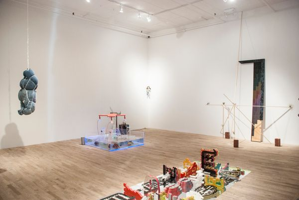Installation shot, courtesy of Postmasters Gallery, New York.