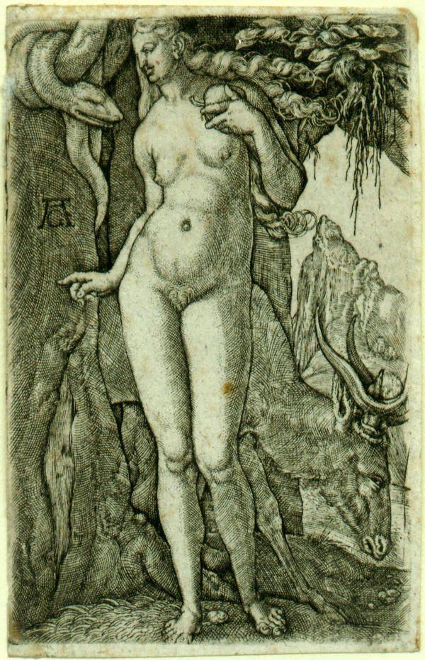 Heinrich Aldegrever, Eve, 1540.