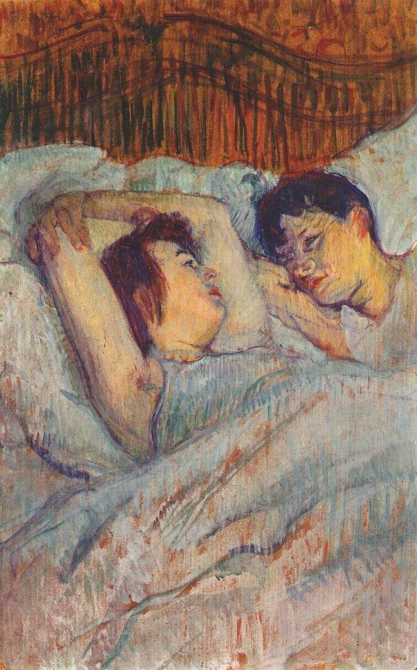 Henri de Toulouse-Lautrec, In Bed, 1892