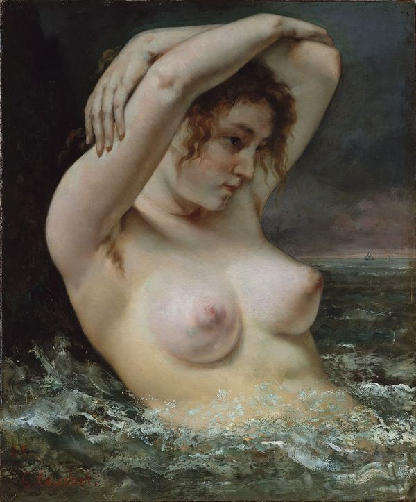Gustave Courbet, The Bather, 1868, Metropolitan Museum of Art, New York