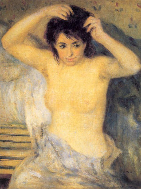 Pierre-Auguste Renoir, Torso Before The Bath, 1875