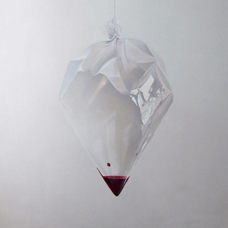 Fábio Magalhães, Sem Título (Retratos Íntimos), Óleo sobre tela, 190x190cm, 2013, Coleção Particular