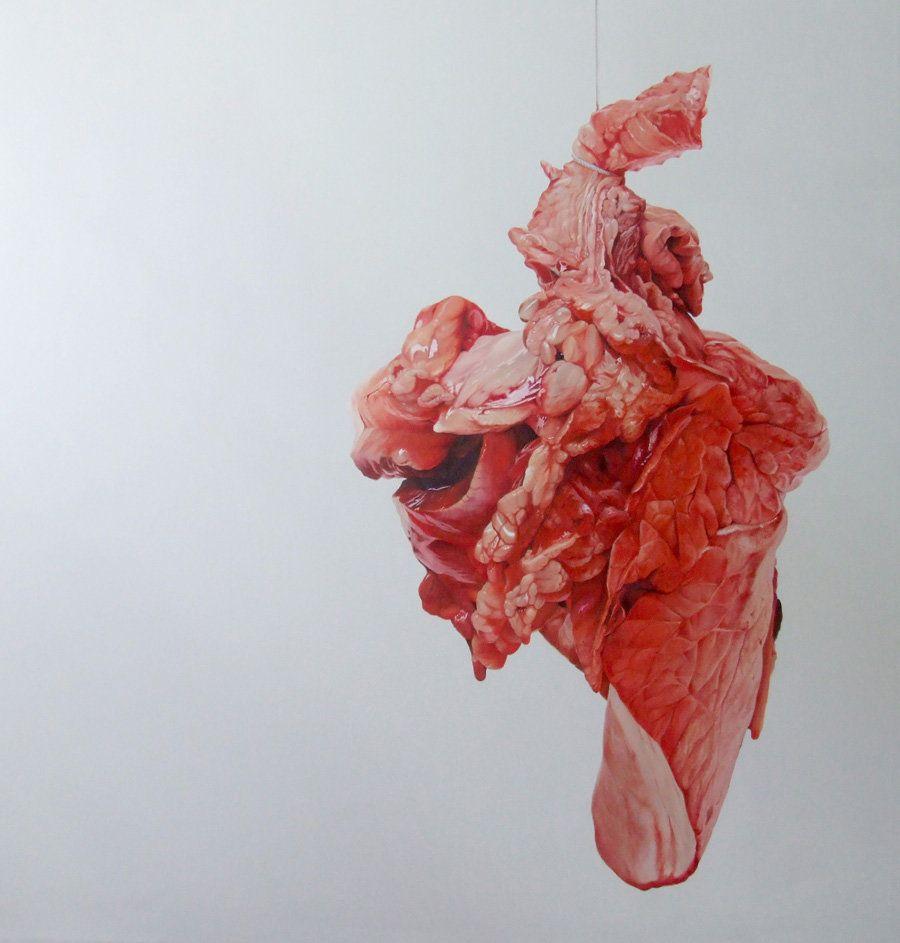 Fábio Magalhães, Sem Título (Retratos Íntimos), Óleo sobre tela, 190x190cm, 2013