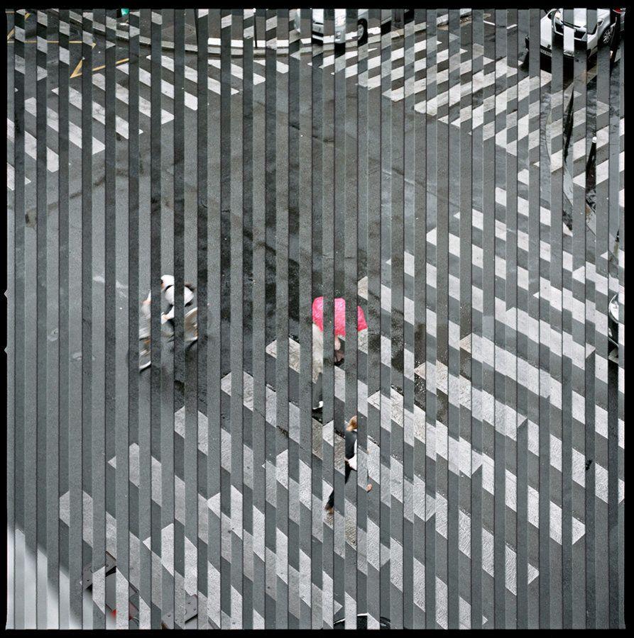 Crosswalk (from the Quantum Blink series), Chromogenic Print, 2011