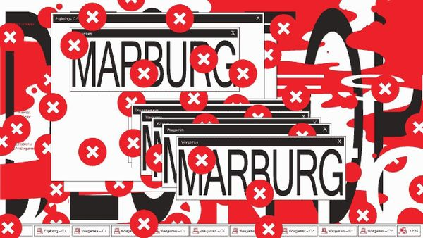 Marburg by HORT   Marburg infects .EXE and .SCR files and draws the all too familiar critical error icon everywhere on your s