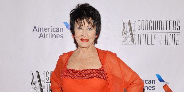 NEW YORK, NY - JUNE 12:  Chita Rivera attends Songwriters Hall of Fame 45th Annual Induction And Awards at Marriott Marquis T