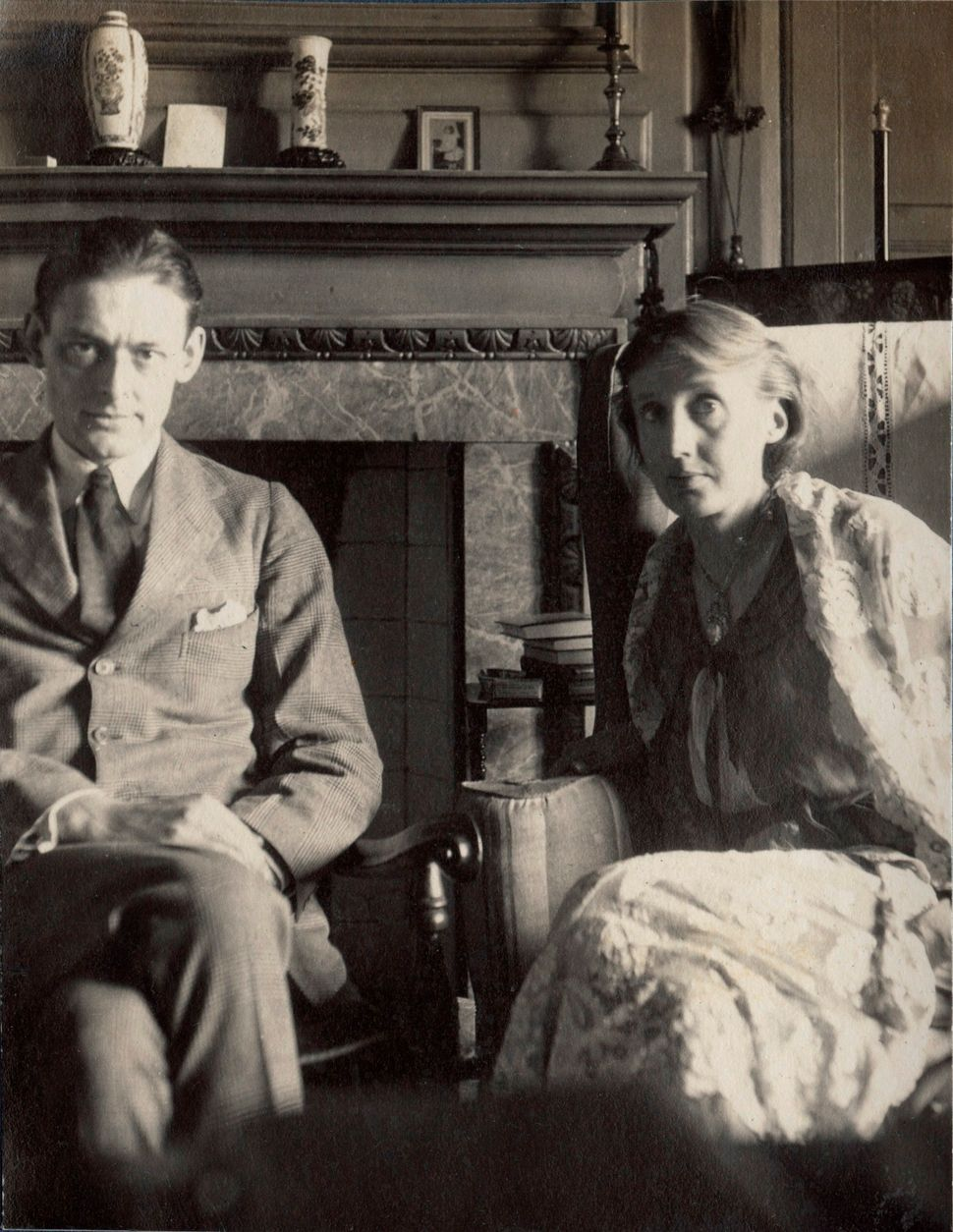 T.S. Eliot and Virginia Woolf by Lady Ottoline Morrell, June 1924 © National Portrait Gallery, London
