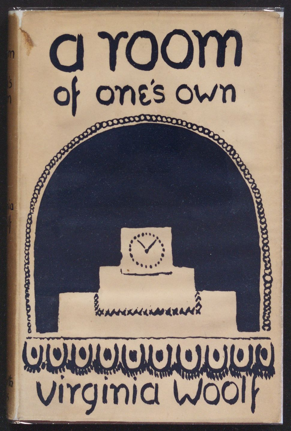 A Room of One's Own by Virginia Woolf, Hogarth Press, 1929, cover design by Vanessa Bell © Estate of Vanessa Bell, courtesy o
