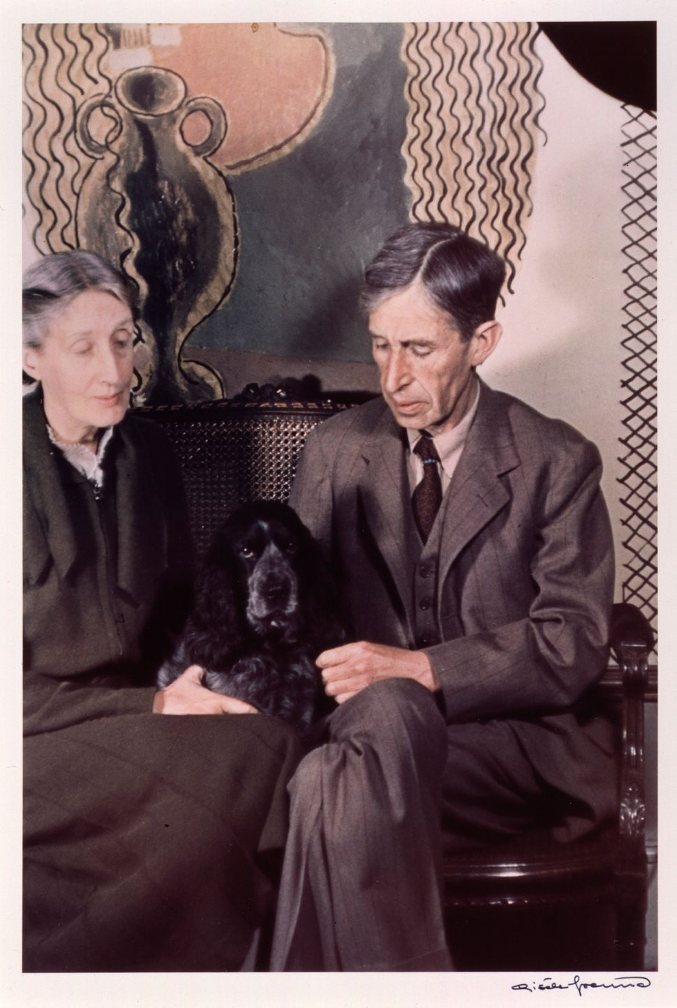 Virginia and Leonard Woolf by Gisele Freund, 1939 © Estate Gisèle Freund / IMEC Images