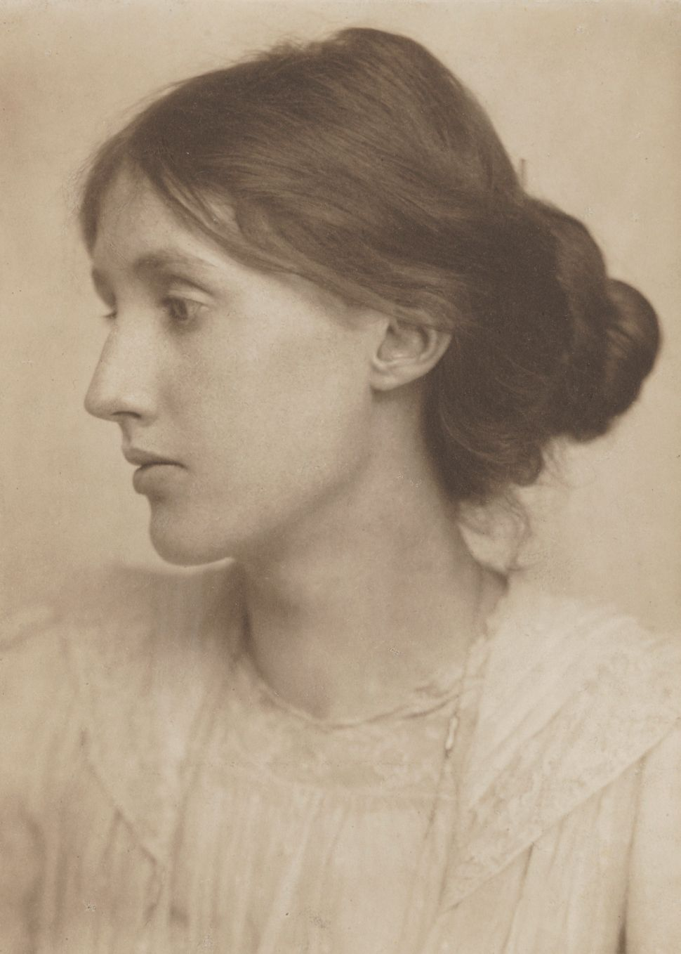 Virginia Stephen by George Charles Beresford, July 1902 ©National Portrait Gallery, London