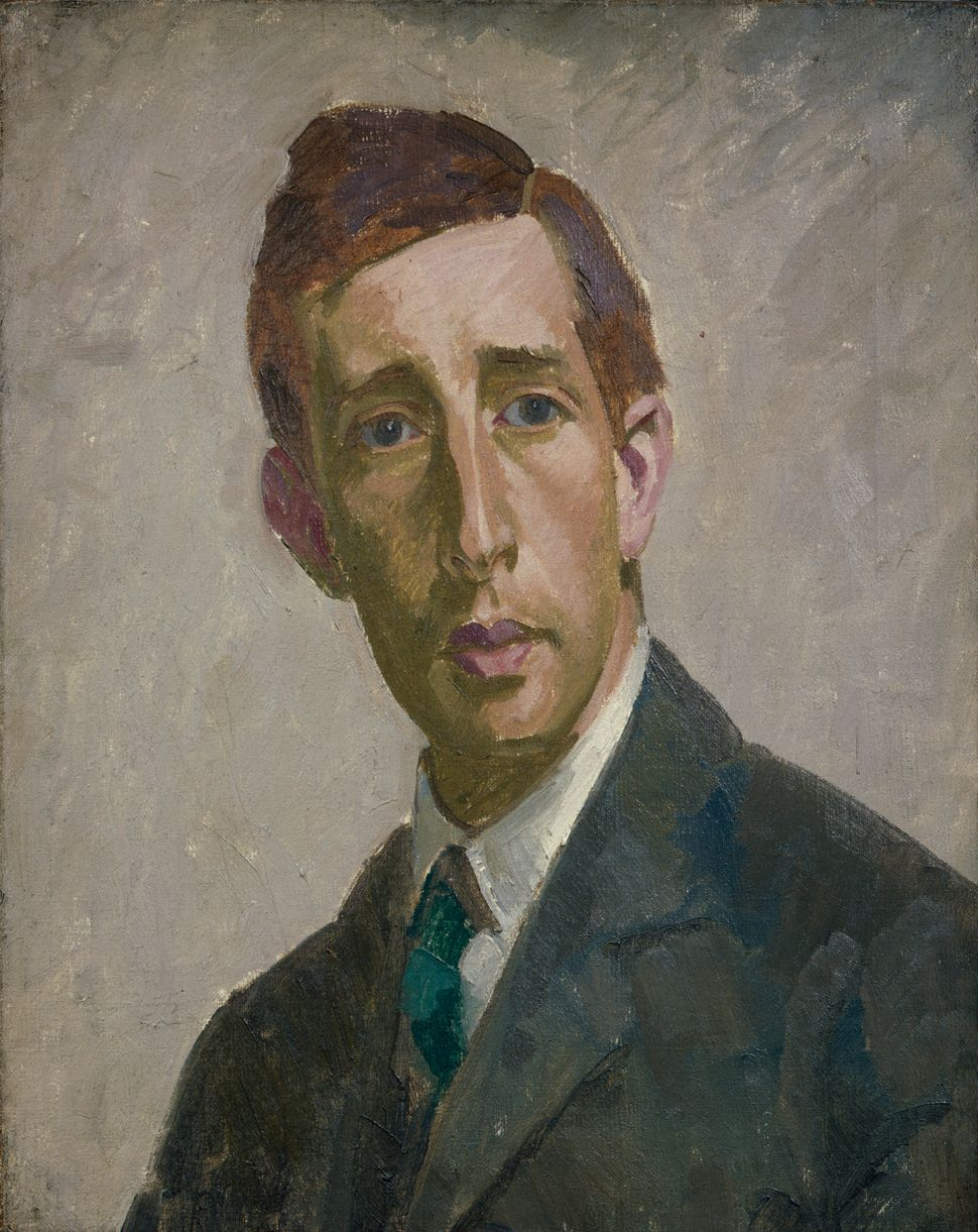 Leonard Woolf by Henry Lamb, 1912 © Private collection