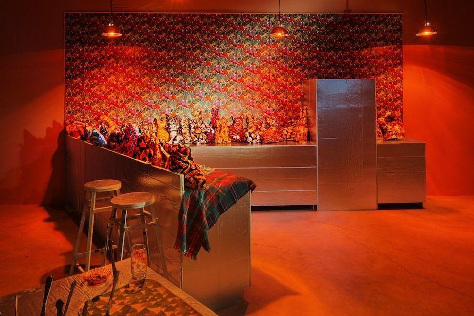 Samara Golden. Mass Murder, Night Gallery, 2014. Installation shot