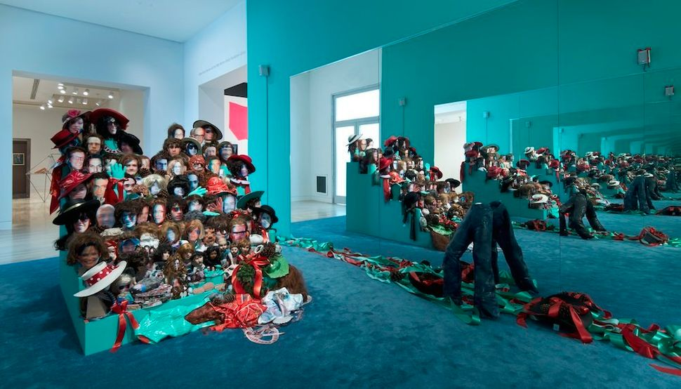 "Samara Golden, ""Thank you"". Made in L.A. 2014. Installation view at the Hammer Museum, Los Angeles. June 15-September 7, 2014"