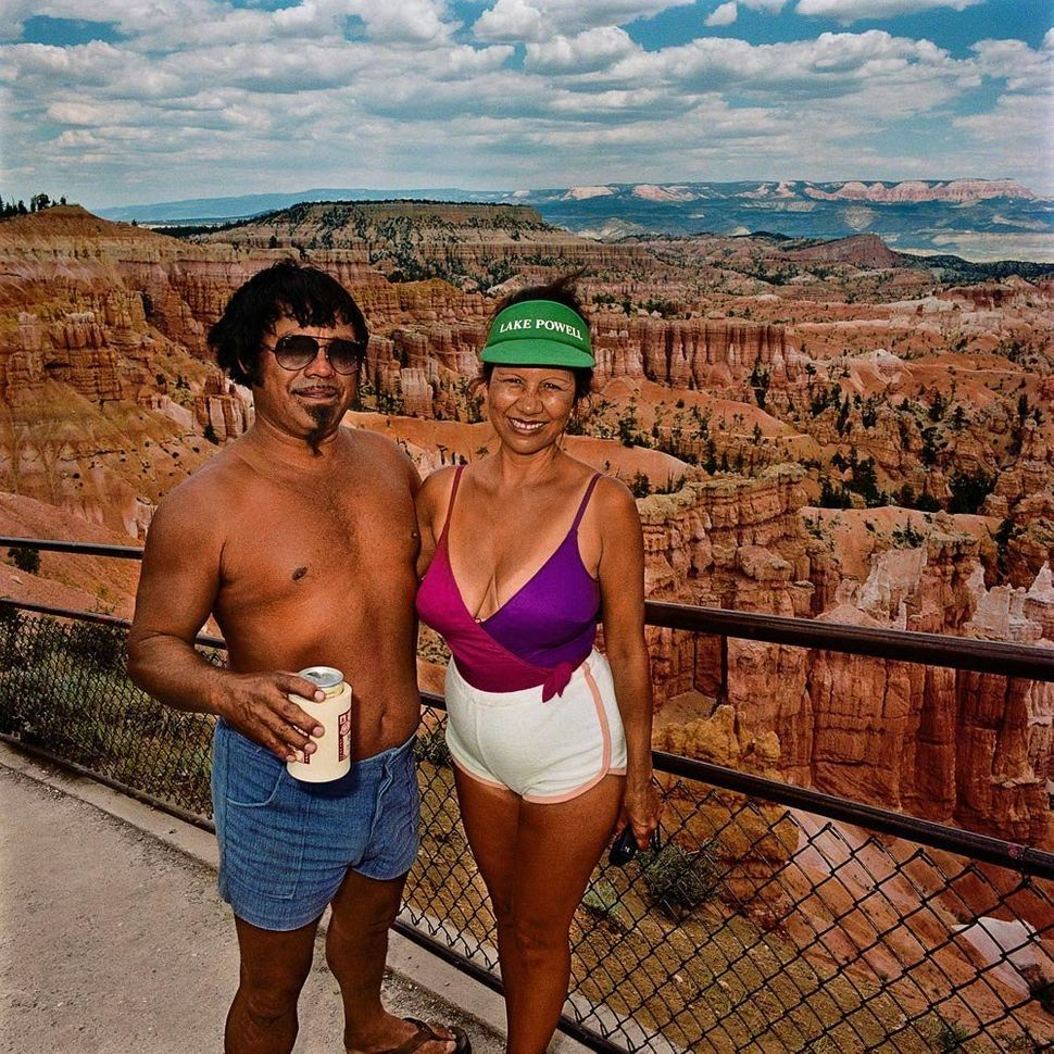 Couple at Sunset Point, Bryce Canyon National Park, UT 1980