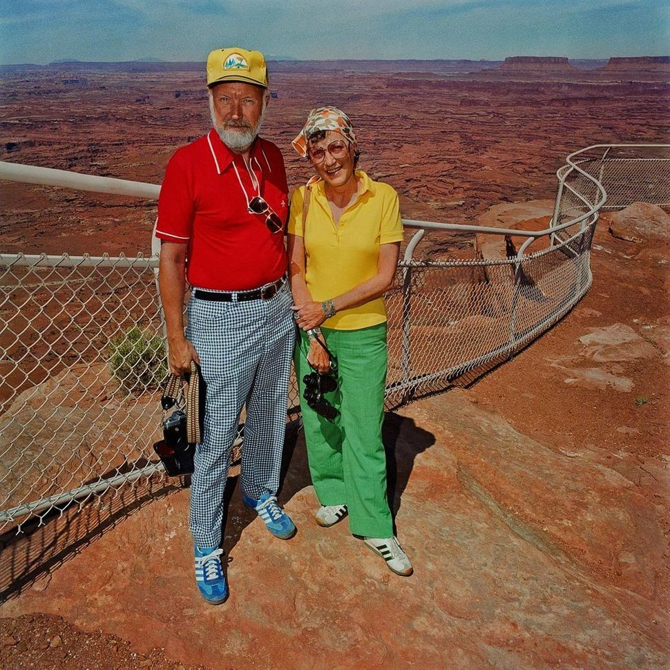 Couple at Canyonlands National Park, UT 1980