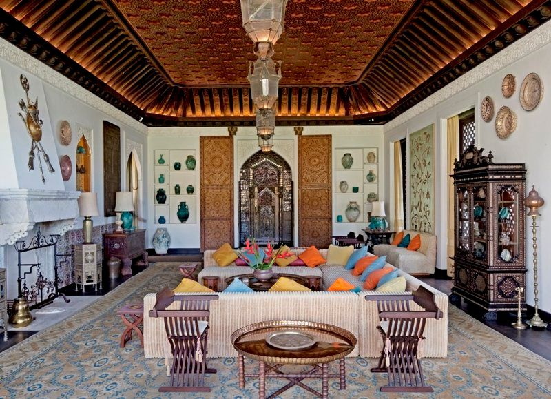 Heiress Doris Duke collected Islamic art objects from all over the world and displayed them at her home in Hawaii (now operat