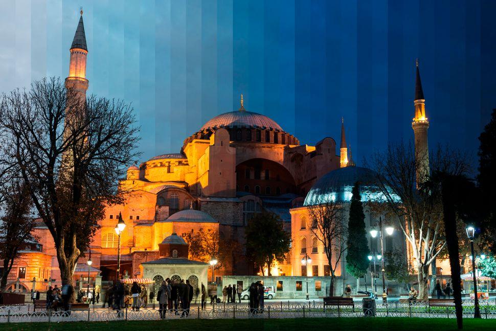Hagia Sophia Sliced