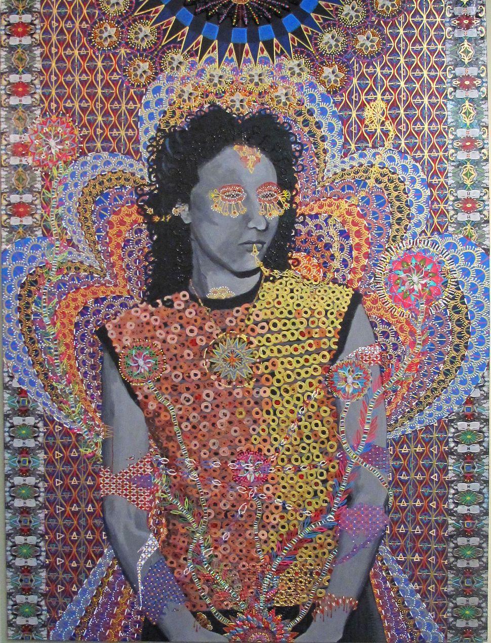 Les Femmes D Alger 1, 48x36 inches, 2012