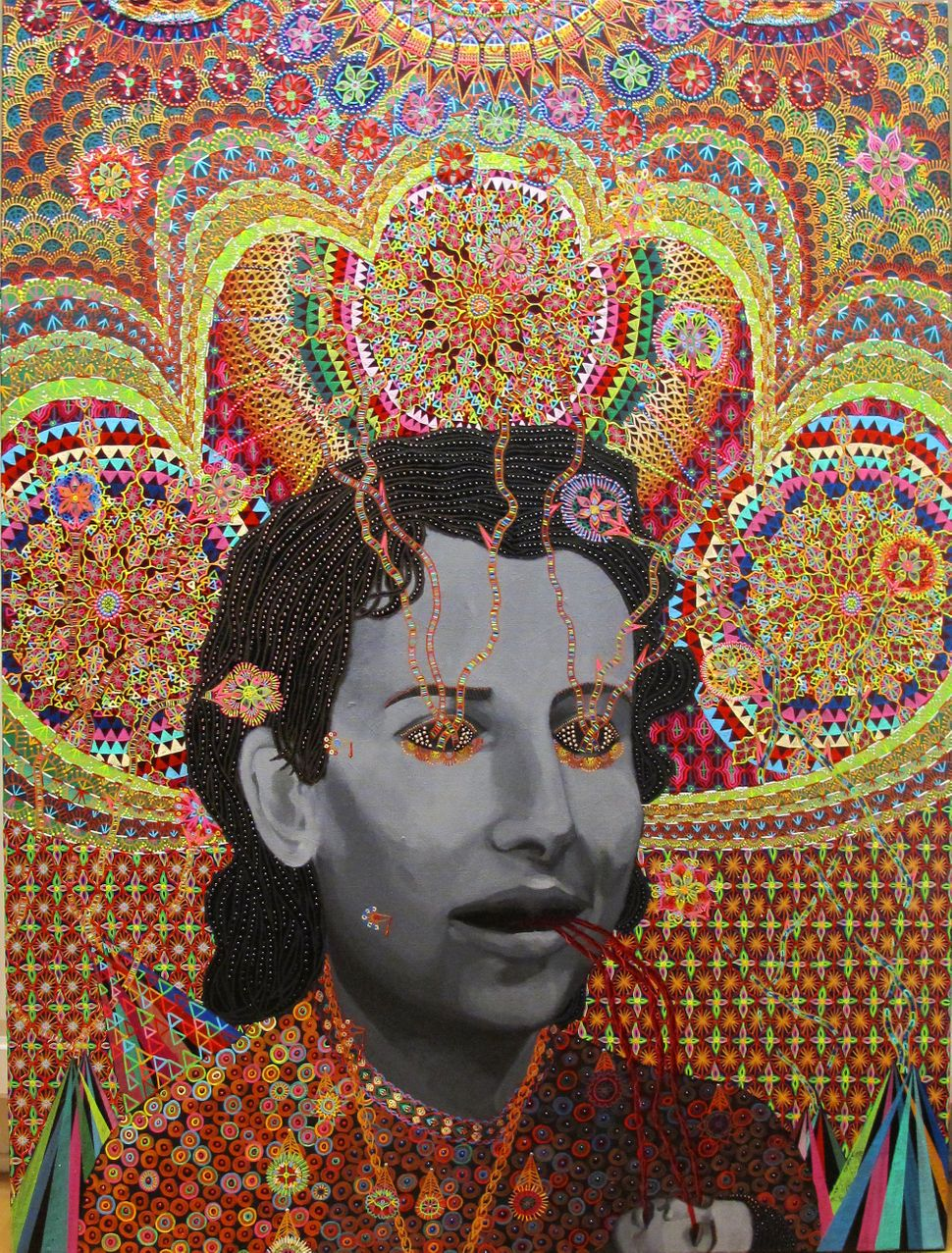 Les Femmes D'Alger #17, 48x36 inches, 2012