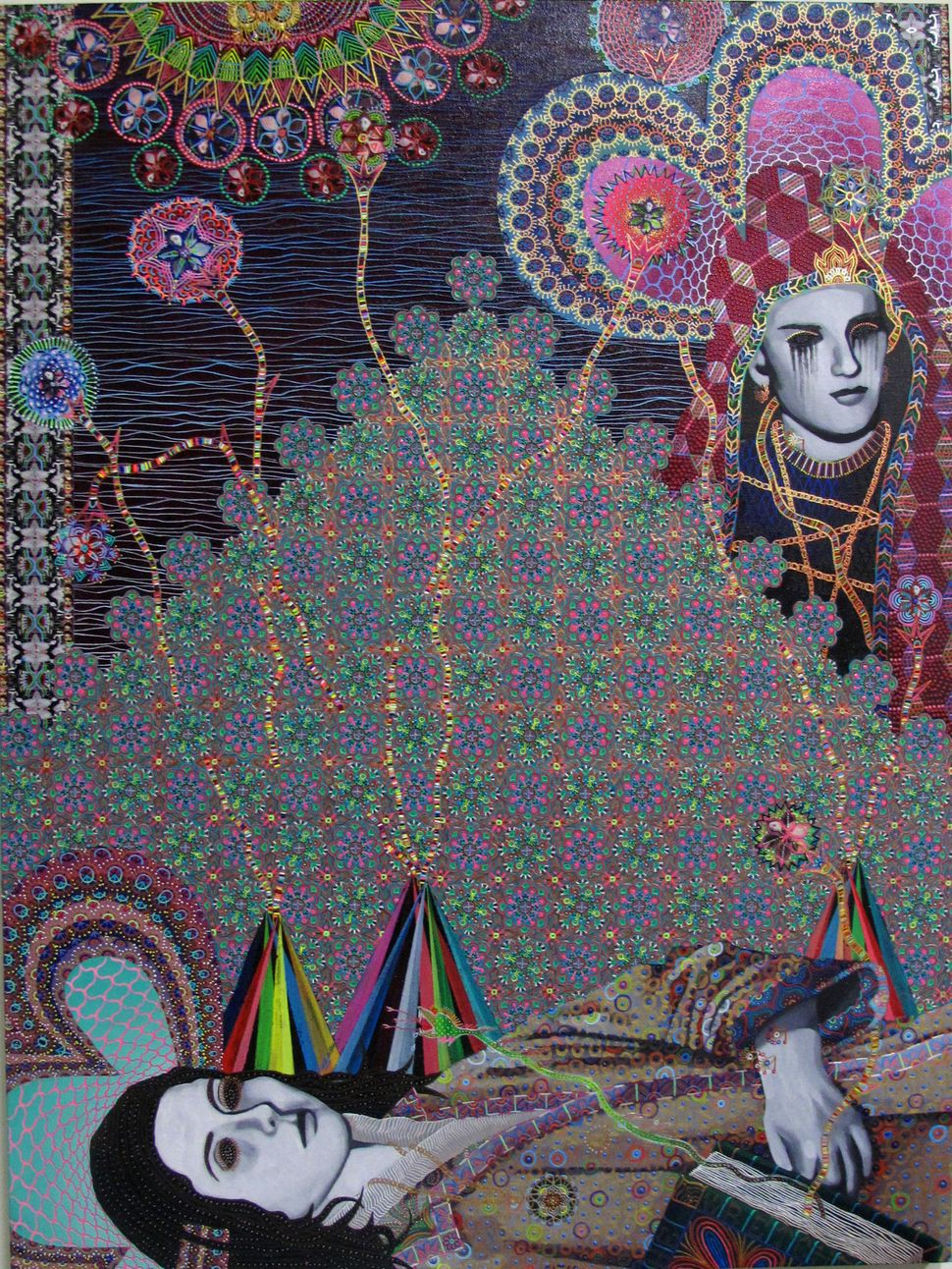 Les Femmes D Alger #37, 48x36 inches, 2014