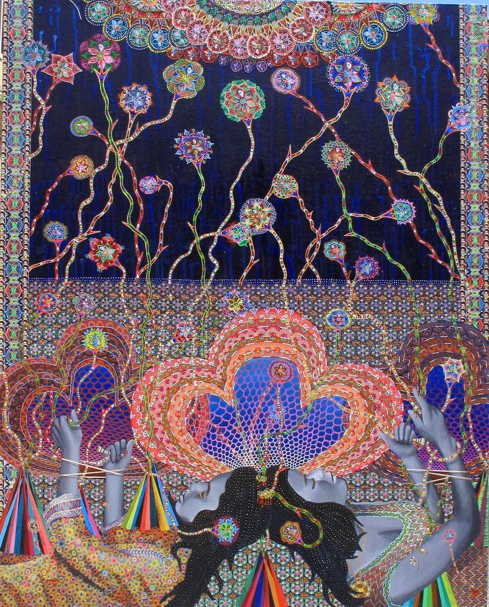 Les Femmes d Alger #31, 60x48 inches, 2013