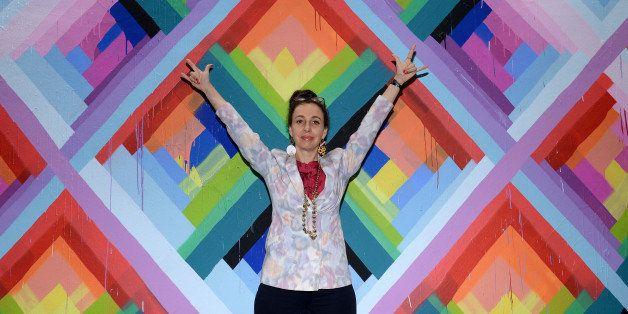 MIAMI, FL - DECEMBER 04: Artist Maya Hayuk attends Vanity Fair And Cadillac Toast The Artists Of Wynwood...