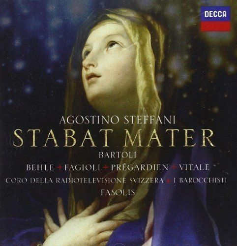 Agostino Steffani (1654-1728). Stabat Mater & Overtures et Dances Cecilia Bartoli, I Barocchisti/ Diego Fasolis. 2 Decca CDs,