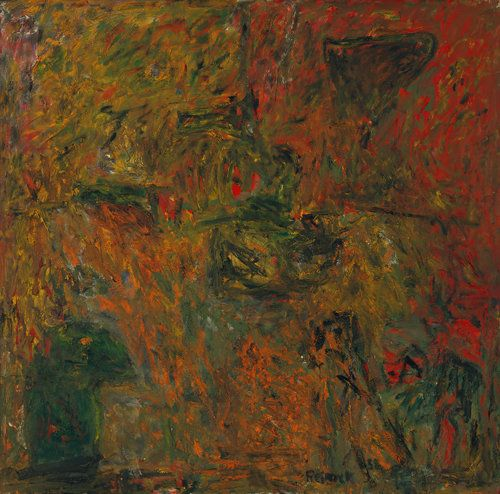 "Milton Resnick, famed for his ""all-over"" approach, was at once one of abstract expressionism's most stalwart and most extreme"