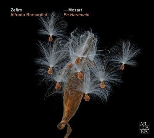 Mozart for Winds. Zefiro Baroque Band conducted by Alfredo Bernardini. Arcana CD By Laurence Vittes<br>  Mozart For Winds is