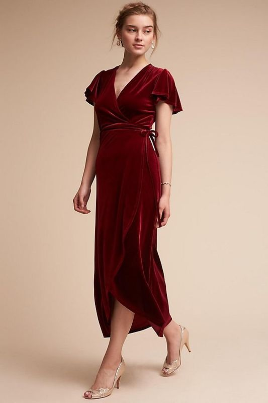 551e36e6e2f2 Here Are 17 Trendy Dresses You Can Wear To A Fall Wedding | HuffPost ...