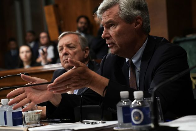 Kavanaugh told Sen. Sheldon Whitehouse (D-R.I.) that a