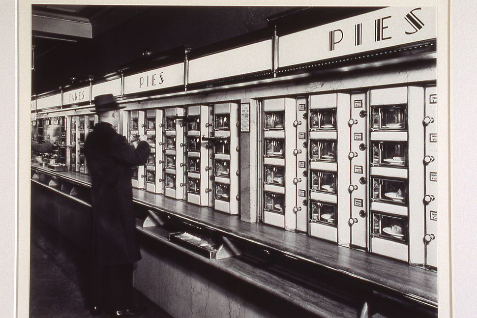 Bernice Abbott, Automat, 1936, Gelatin silver print, 16x20 in., Collection of Martin Z. Margulies