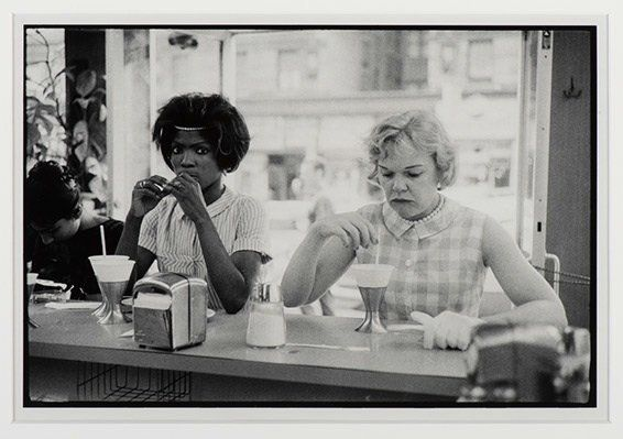 Bruce Davidson, New York City, Black American Series, 1962, Gelatin silver print, 11 x14 in., Collection of Martin Z. Marguli