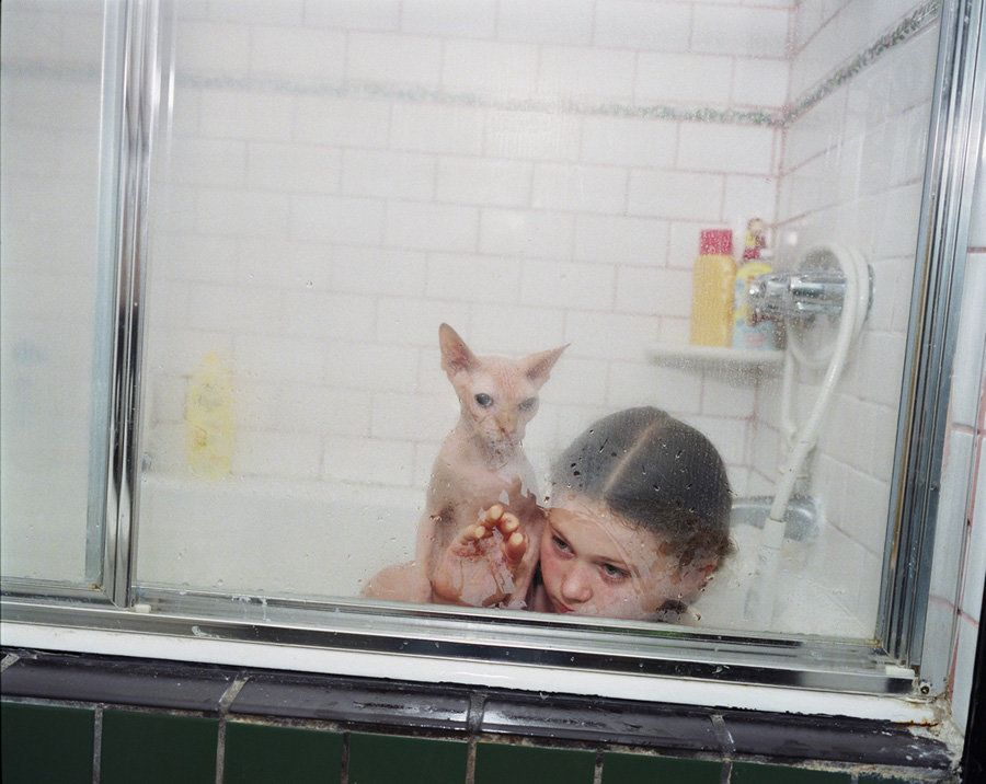 "<a href=""http://www.robinschwartz.net/"" target=""_blank"">Robin Schwartz</a>, ""Jacob's Weekly Bath,"" 2009"