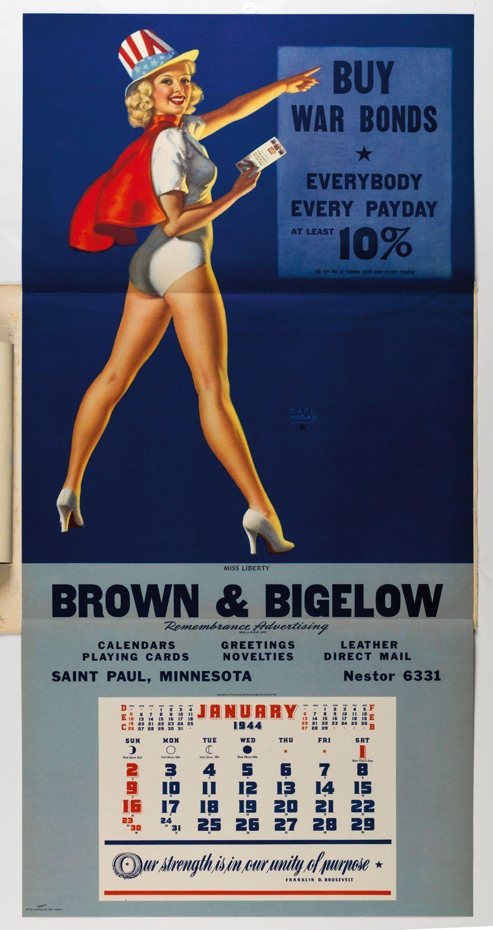 By Earl Moran (c) Brown & Bigelow